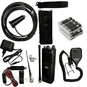 Комплект автотуриста - радиостанция Штурман-880 с аксессуарами
