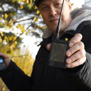 На стартовой точке теста уровень сигнала в диапазоне 145МГц минус 11,4 дБм