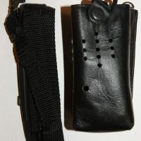 Чехол кожаный для рации Беркут-502, Беркут-601м2, Берут-601м2т