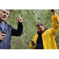 27МГц vs 145МГц vs 433МГц - приёмка заказчиком: совместный тест работы раций в лесу