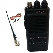 Егерь-128 - новая модель портативной FM cb рации от КБ Беркут