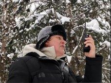 Большой зимний тест работы раций в заснеженном лесу