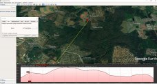 Тест работы в лесу с перепадами высот рации Штурман-180 и баофенгов