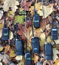 Осенний тест работы в лесу раций разных диапазонов частот