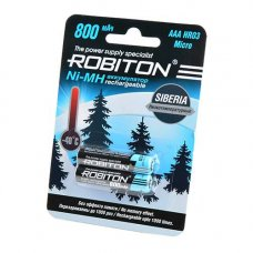 2 АAА аккумулятора Robiton SIBERIA 800 mAh