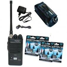 Hunter-80#8 - FM Си-Би (27 МГц) рация