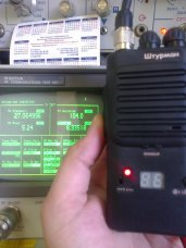 Измерение тестером падения напряжения на батареях