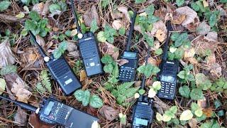 Тест (город - лес) раций диапазонов 27, 136-174 и 400-520 МГц