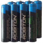 "Комплект (8 шт. ""ААA"") аккумуляторов Robiton ready to use 950 mAh"