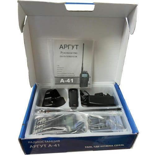 Профессиональная рация Аргут А-41 new