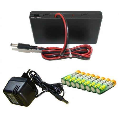 Контейнер внешнего питания в комплекте с 8 аккумуляторами АА 2700мАч и ЗУ