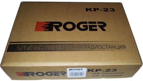 Профессиональная рация Roger KP-23