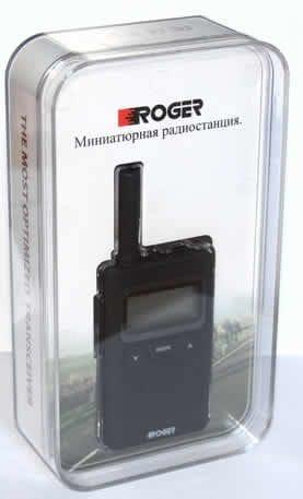 Миниатюрная пыле-водозащищённая PMR  рация Roger KP-55
