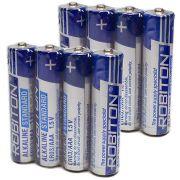"Комплект (8 шт. ""ААА"") батарей Robiton alkaline"