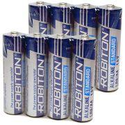 "Комплект (8 шт. ""АА"") батарей Robiton alkaline"
