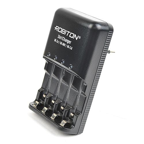Robiton 3in1Charger - универсальное зарядное устройство для NiZn, NiCd, NiMh аккумуляторов