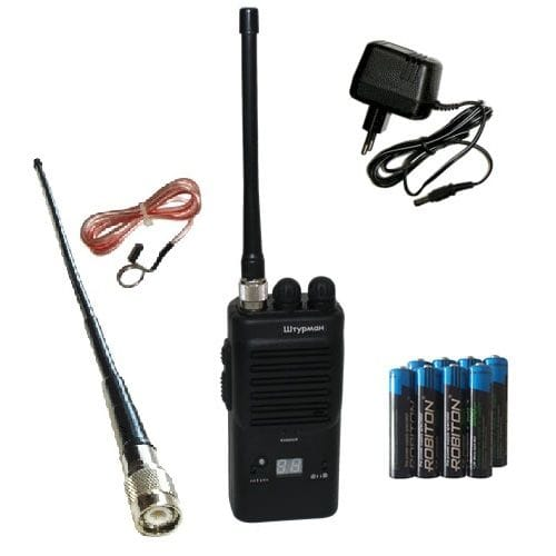 AM/FM Си-Би (27 МГц) рация Штурман-80М в комплектации#1