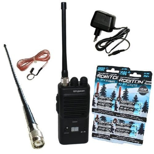 Штурман-80М#7 - AM/FM Си-Би (27 МГц) рация