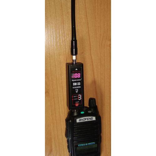 Беркут-145-SMA-m - 20-см антенна для раций диапазона 136-174 МГц
